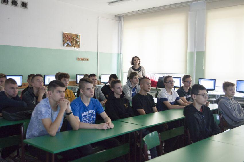 Warsztaty w ZSO nr 4 im. Orląt Lwowskich W Lublinie