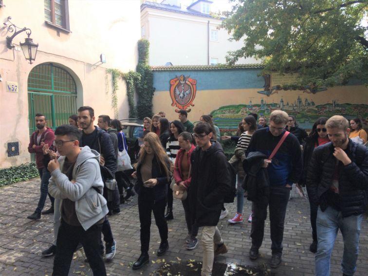 Dni Orientacyjne i zwiedzanie Lublina w ramach projektu...