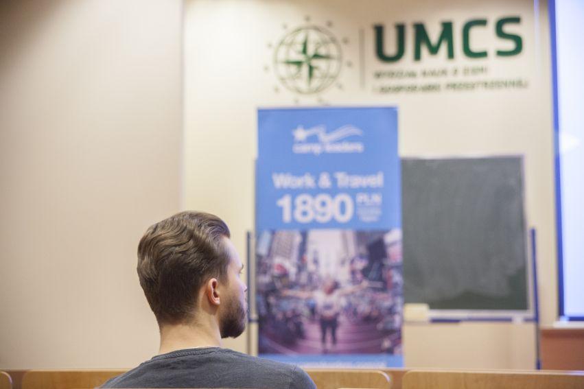 Wizyta Pani Konsul USA Jaime D. Loda na WNoZiGP UMCS
