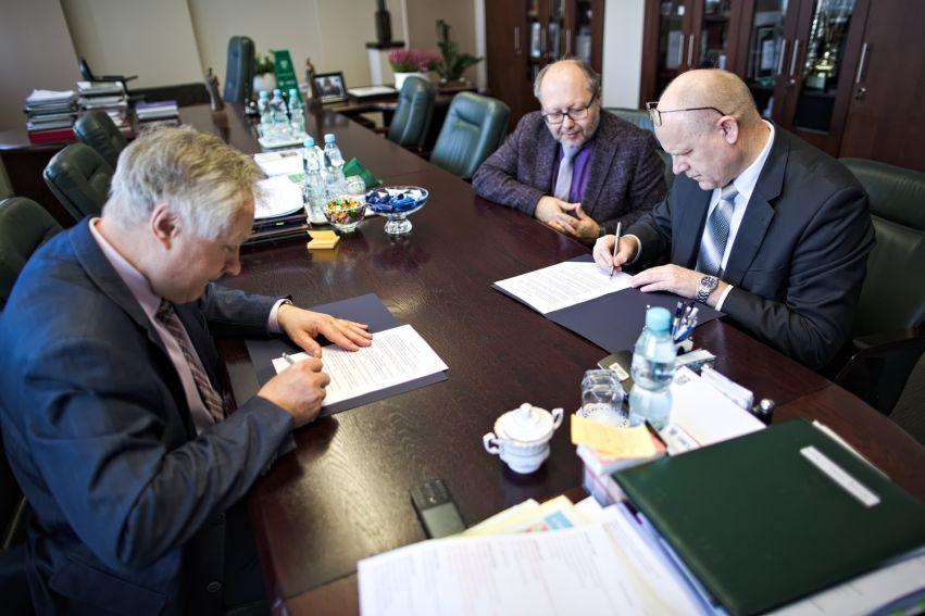 Podpisanie porozumienia z Urzędem Statystycznym