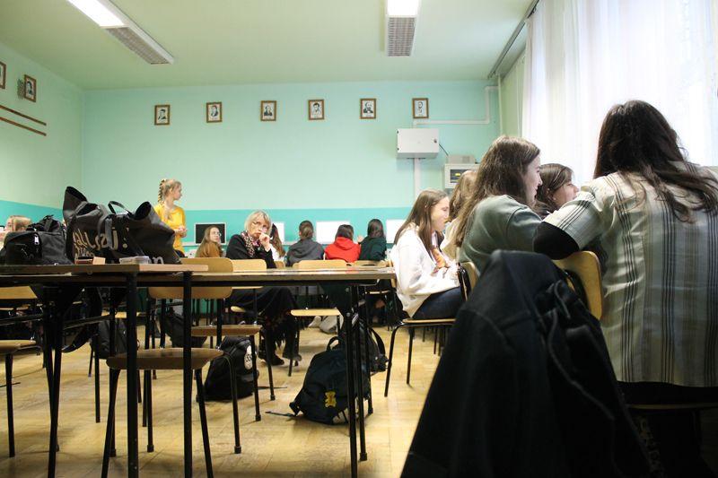 Warsztaty w III L.O. im. Unii Lubelskiej w Lublinie