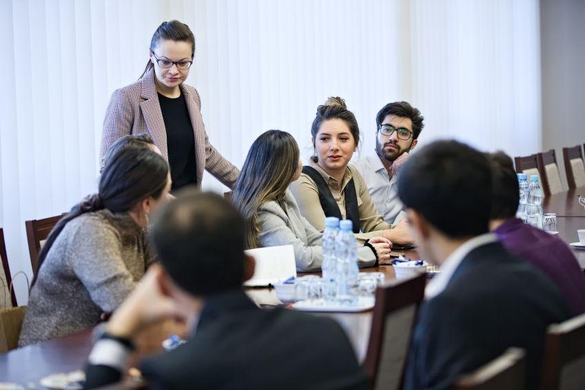 Spotkanie z przedstawicielami Ambasady Azerbejdżanu w Polsce
