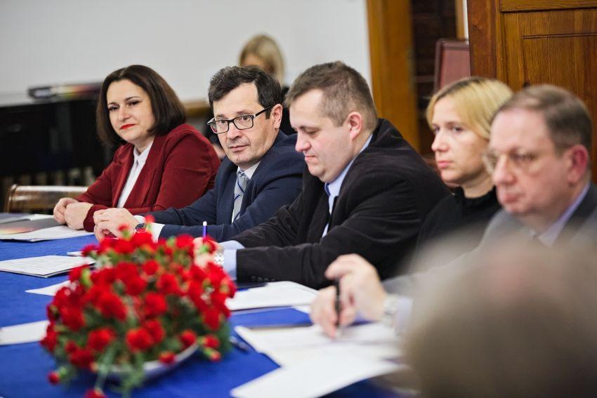 Partnerzy Centrum Europejskiego z wizytą na UMCS