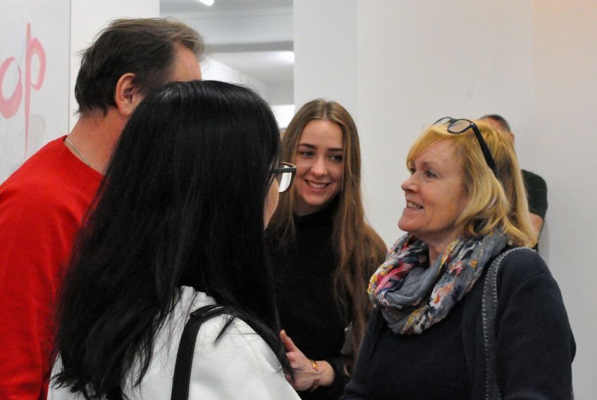 Visit of artists from Lviv