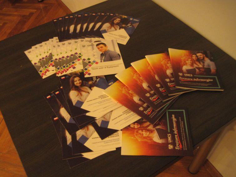 Broszury i foldery promocyjne UMCS