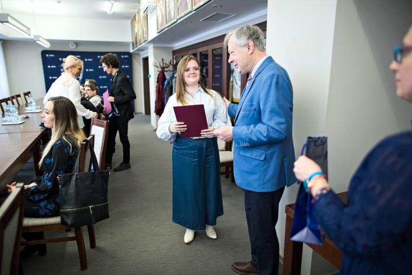 Spotkanie z laureatami stypendium MNiSW