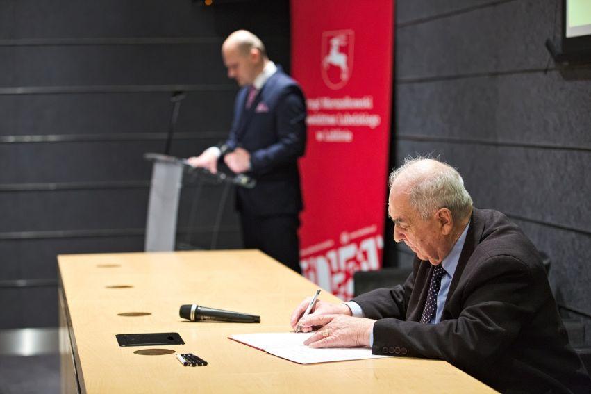"""Podpisanie listu intencyjnego """"Lubelskie - wspólnie dla..."""