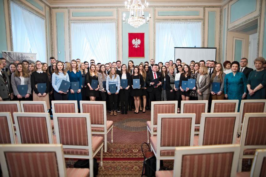 Wręczenie stypendiów Prezydenta Lublina dla studentów i...