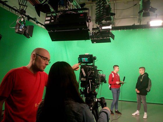Warsztaty telewizyjne dla szkół