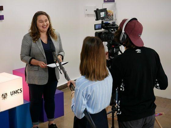 Ekipa TV UMCS w akcji!
