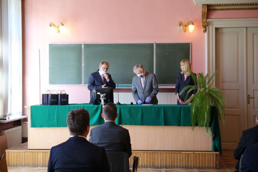 Ceremonia nadania tytułów doktorów