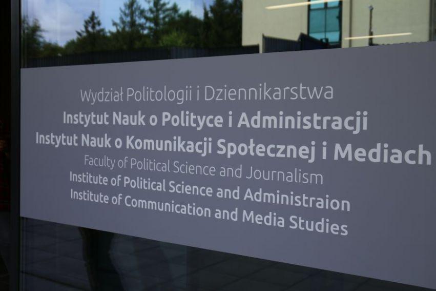 """""""Nowy"""" Wydział Politologii i Dziennikarstwa -..."""