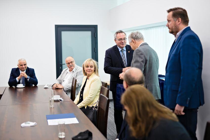 Spotkanie JM Rektora UMCS ze sponsorami sportu akademickiego