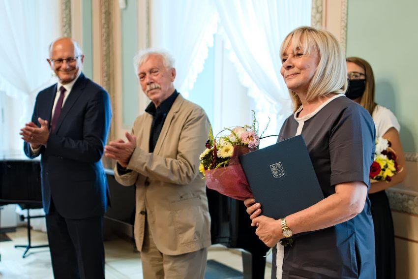 Prof. Urszula Bobryk otrzymała nominację do Nagrody...