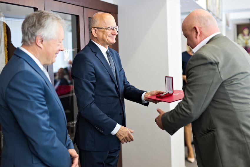"""Wręczenie medali """"Merentibus Civitatis Lublini"""""""
