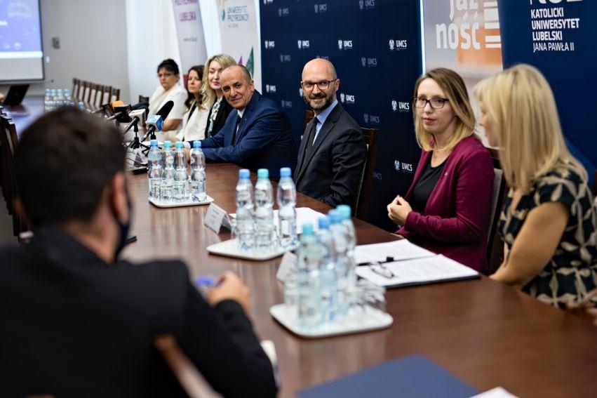 Konferencja prasowa dotycząca LWDN