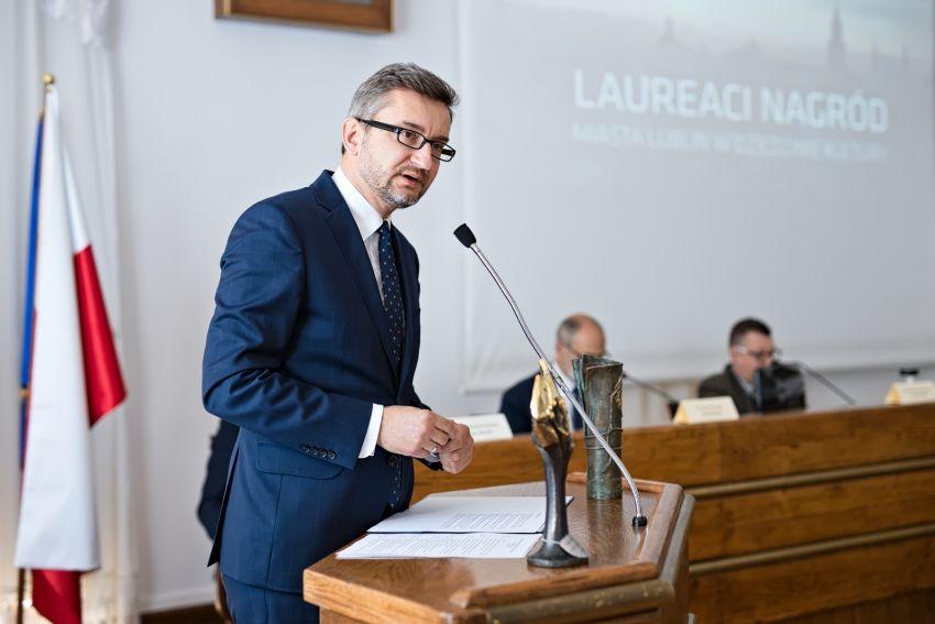 Nagroda miasta Lublin dla prof. dr hab. Urszuli Bobryk
