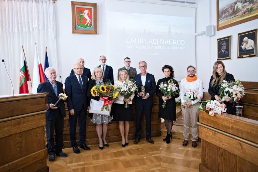Nagroda miasta Lublin dla naszej Pani Dyrygent prof. dr...
