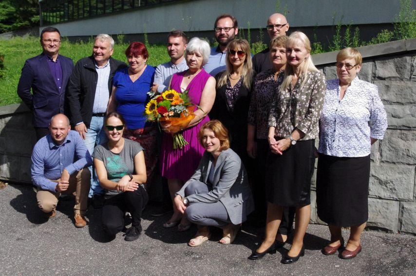 Uroczystość pożegnania Pani Dyrektor dr hab. A. Łosowskiej