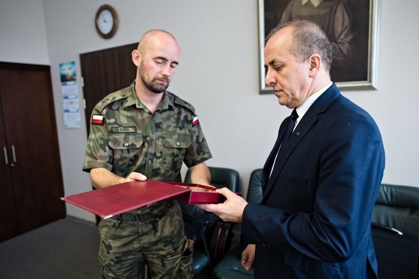 Spotkanie JM Rektora UMCS z Legią Akademicką