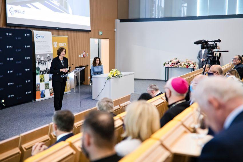 Uroczyste otwarcie Kampusu Zachodniego UMCS im. Unii...