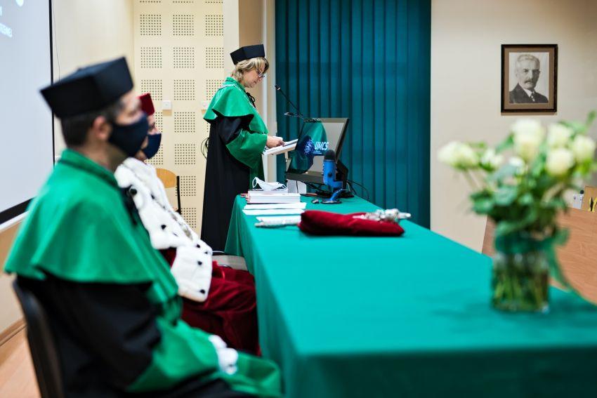 Immatrykulacje studentów pierwszego roku