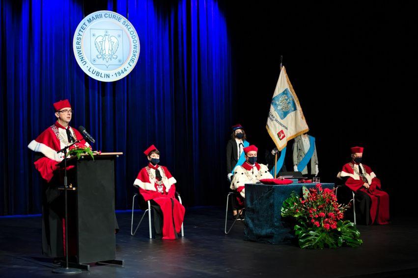 Uroczysta inauguracja roku akademickiego 2020/2021 na UMCS