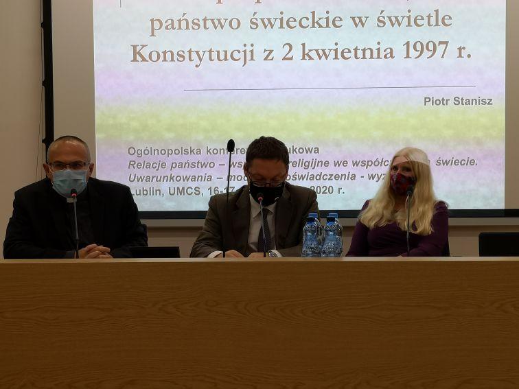 """konferencja """"Relacje państwo-wspólnoty religijne we..."""