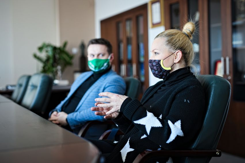Spotkanie z aktorką Katarzyną Bujakiewicz