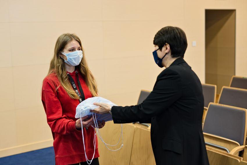 "Spotkanie z laureatami programu NAWA i KRASP ""Solidarni z..."