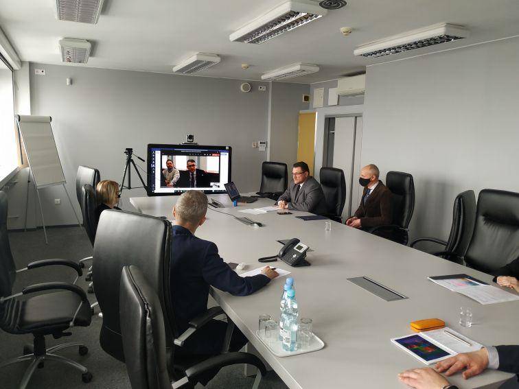 Spotkanie z Uniwersytetem Krzemieńczuckim oraz Instytutem...