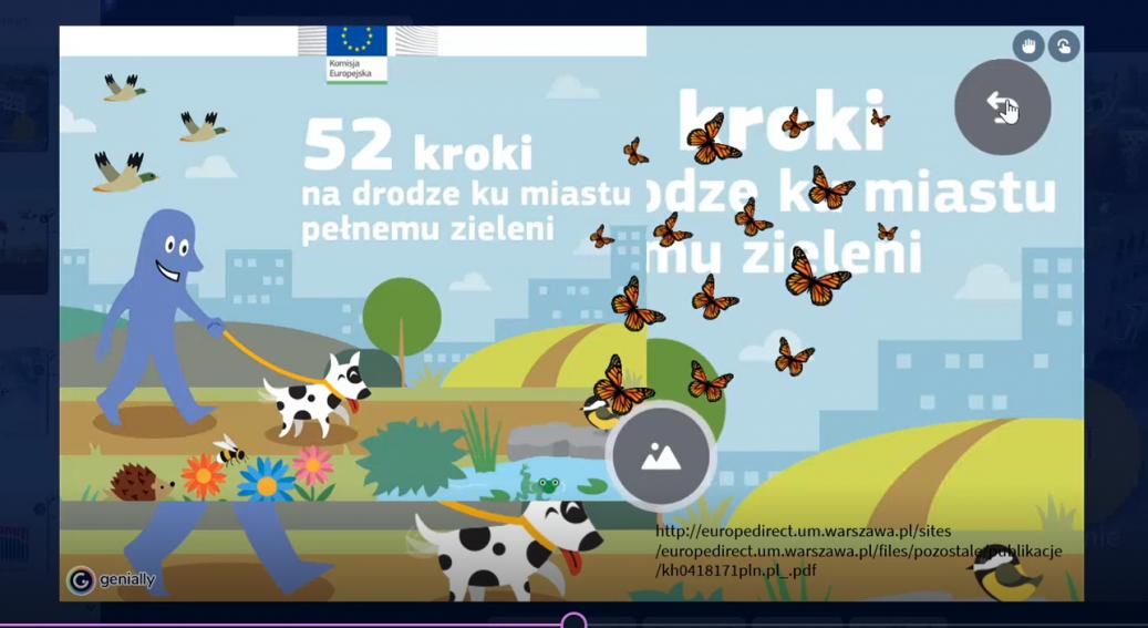 Warsztaty europejskie online ze szkołami partnerskimi