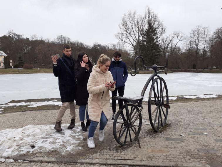 Język polski ponad granicami - wizyta w Nałęczowie
