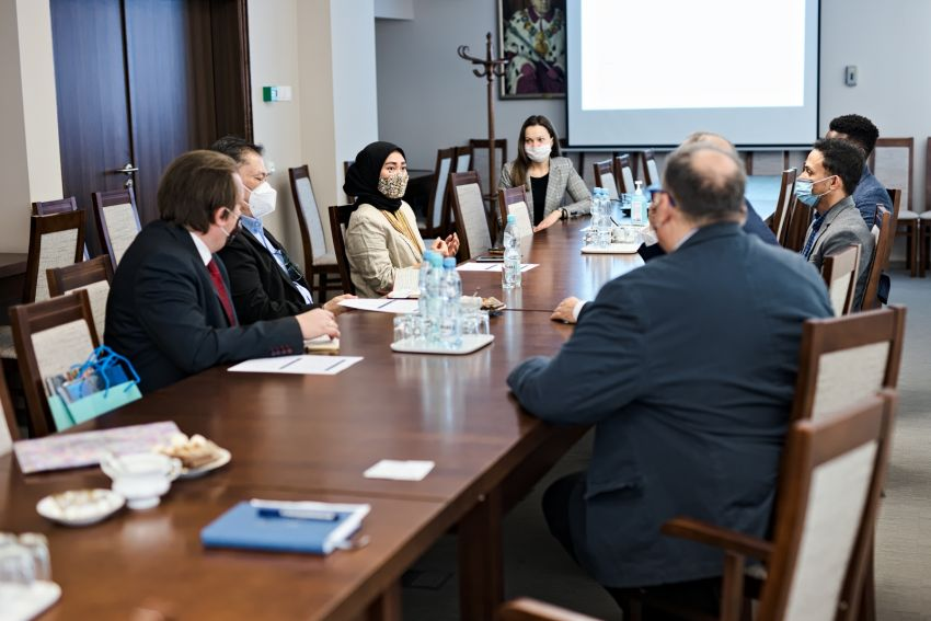 Spotkanie z delegacją Ambasady Indonezji