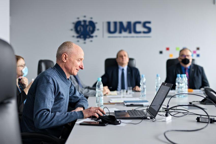 Spotkanie z Odeskim Narodowym Uniwersytetem Politechnicznym