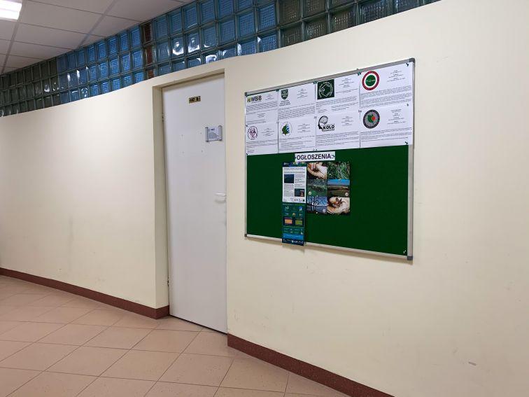 Otwarcie Pokoju Organizacji Studenckich na WBiB