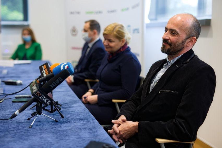 Konferencja prasowa dotycząca komercjalizacji wynalazków...