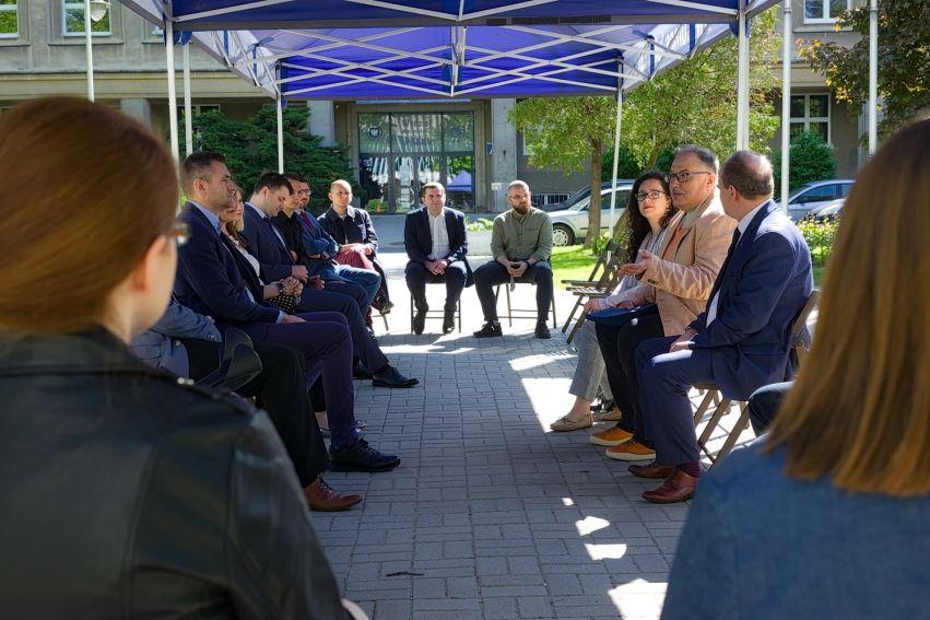 Pierwsze posiedzenie Rady Młodych Naukowców