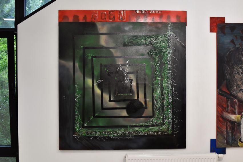 """Artur Tokarz """"1I/ʻ Symbole, znaki, kompozycje"""""""
