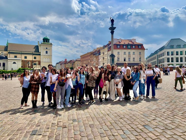Integrative trip of international students of the UMCS to...