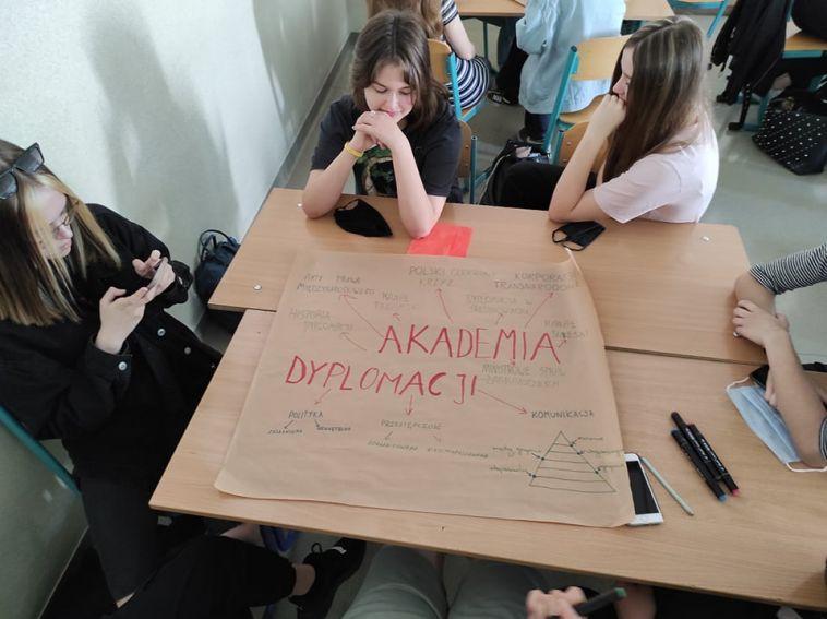 Zakończenie roku szkolnego w klasach o profilu Dyplomacja...