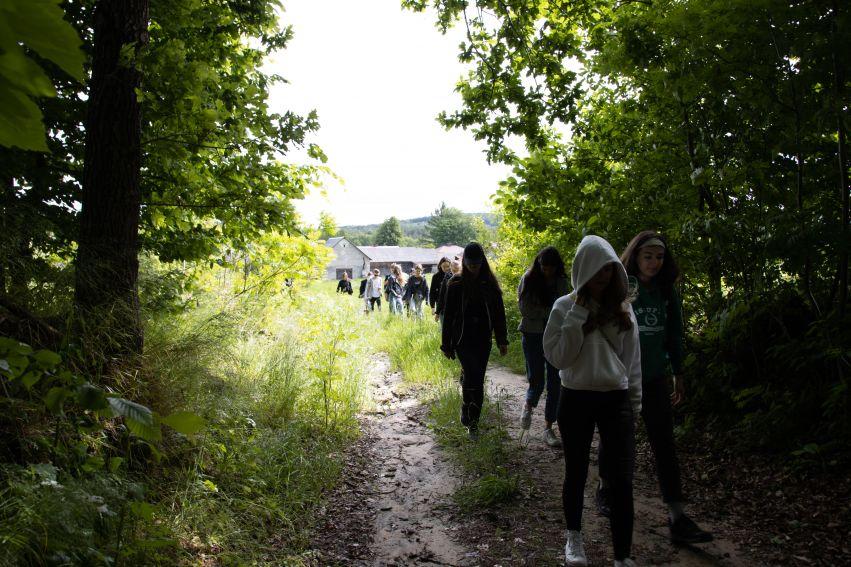 Warsztaty dla licealistów w Guciowie (14.06.2021)