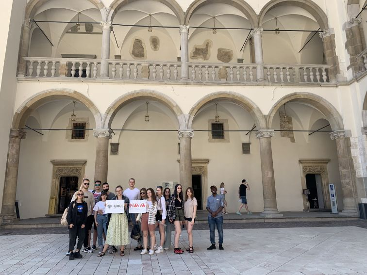 Integrative trip of international students of UMCS to...