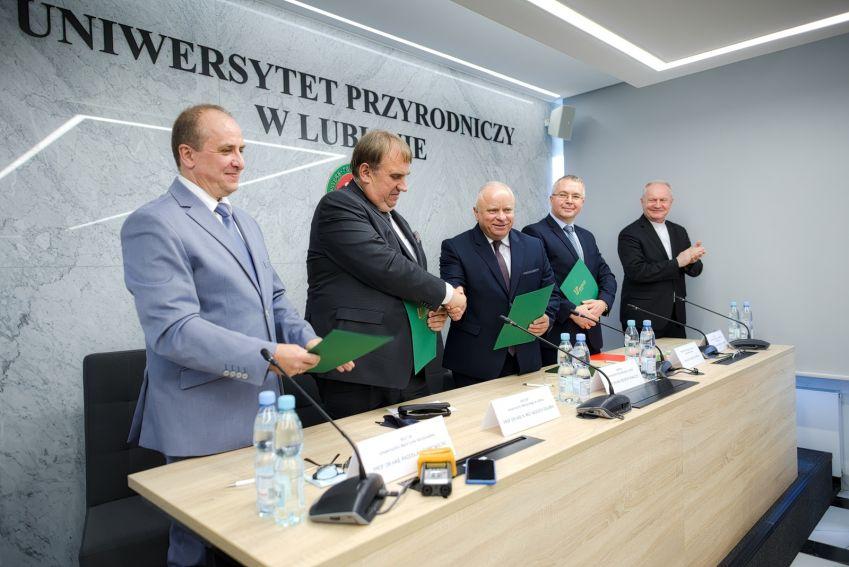 Podpisanie porozumienia w ramach Związku Uczelni Lubelskich