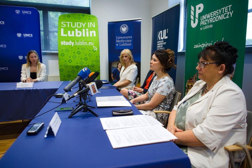 Konferencja prasowa w sprawie XVII Lubelskiego Festiwalu...