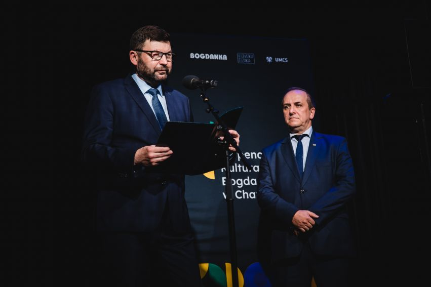 Gala Stypendialna Stypendiów Kulturalnych Bogdanki w...