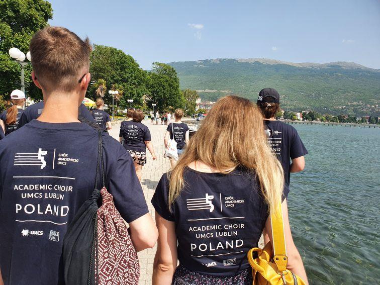 Chór Akademicki UMCS wystąpił w Macedonii!