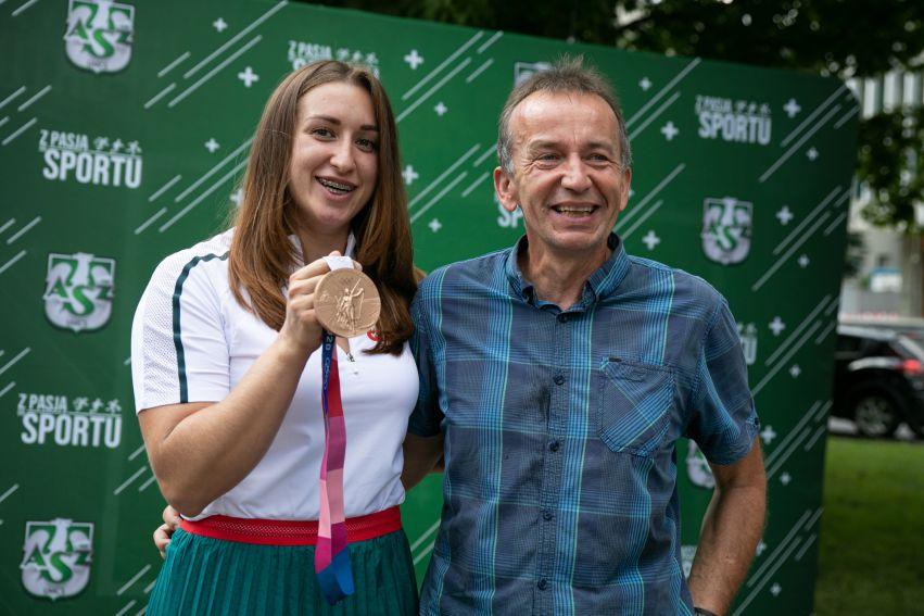Spotkanie z medalistką olimpijską Malwiną Kopron