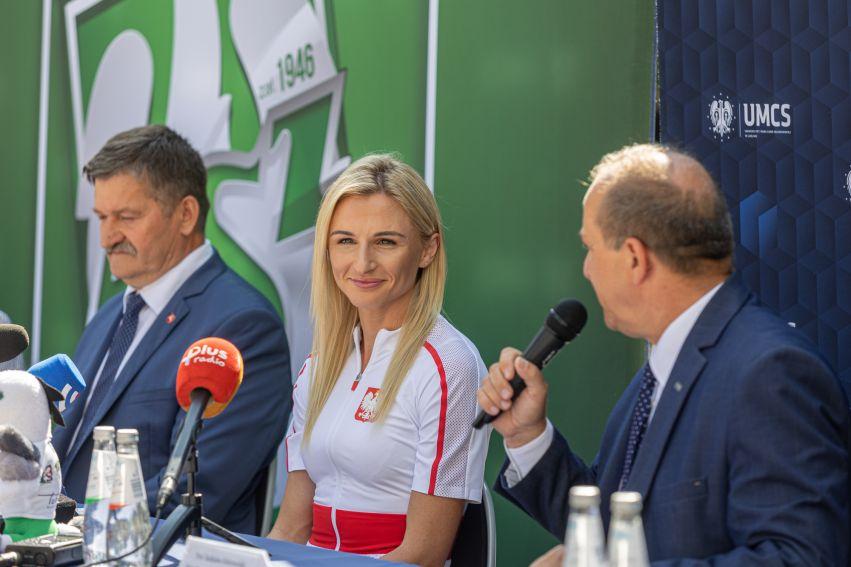 Małgorzata Hołub-Kowalik odwiedziła UMCS