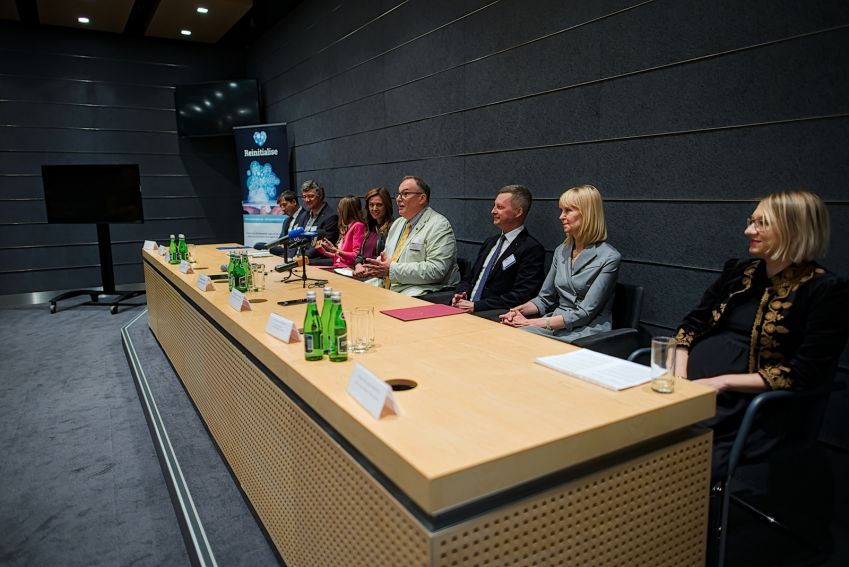 """Konferencja prasowa ws. projektu """"Reinitialise"""""""
